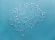 Neurales Netz Stockfoto