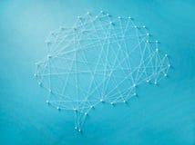 Neurales Netz Stockfotografie