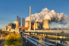 Neurath power plant Royalty Free Stock Photography
