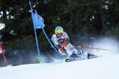 NEUREUTHER Felix nel Gia di Men's della tazza di Audi Fis Alpine Skiing World Fotografie Stock Libere da Diritti