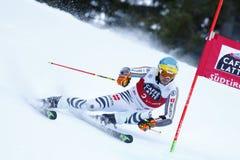 NEUREUTHER Felix nel Gia di Men's della tazza di Audi Fis Alpine Skiing World Immagine Stock