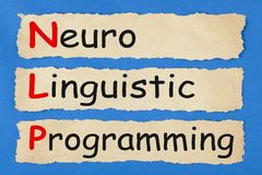 Neuro Linguistic Programming stock photo