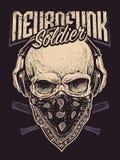 Neurofunk Soldier Stock Photos