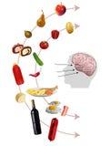 Neurogastronomy Zdjęcie Royalty Free