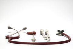 Neurological examination equipment stock photography