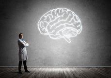 Neurologie- und Gehirnforschungskonzept stockfotos