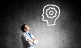 Neurologie- und Gehirnforschungskonzept lizenzfreies stockbild