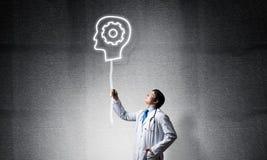 Neurologie- und Gehirnforschungskonzept stockfoto