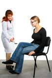 Neurology examination. Royalty Free Stock Images