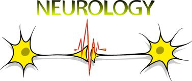 Neurology logo Stock Image