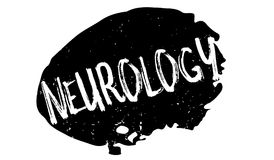 Neurology rubber stamp Stock Image