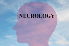 Neurology - scientific concept Stock Images