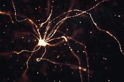 Neuronów Elektryczni pulsy ilustracji