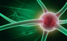 Neuron stock afbeelding