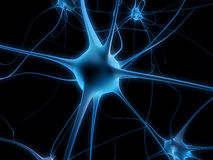 Neuron cell Royalty Free Stock Photo