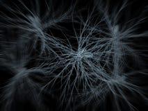 Neuron sieć zbliża wewnątrz   Zdjęcia Royalty Free