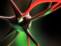 neuroncell一 免版税库存照片