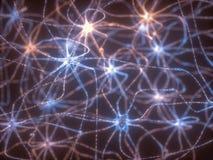 Neuronen Elektroimpulsen vector illustratie