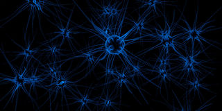 Neuronencellen Royalty-vrije Stock Foto's