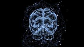 Neuronennetwerk vector illustratie