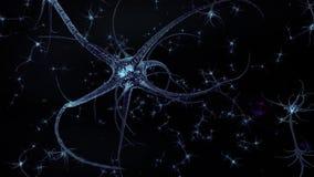 Neuronennetwerk stock illustratie