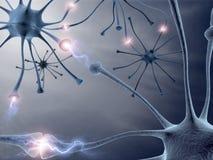 Neuroni illustrazione di stock