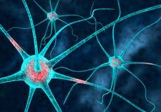 neurons stock illustrationer