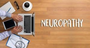 NEUROPATHIE Arztkonzept, Neuropathie-Benennung in Anam lizenzfreie stockfotografie