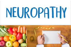 NEUROPATHY  Medical  Doctor concept , Neuropathy Wording in Anam Royalty Free Stock Photo