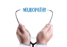 NEUROPATHY  Medical  Doctor concept , Neuropathy Wording in Anam Royalty Free Stock Images