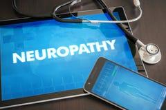 Neuropathy (neurological disorder) diagnosis medical concept on Stock Photo