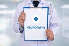 NEUROPATHY Stock Image
