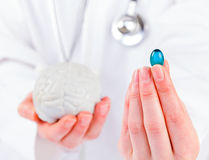 Neuropsychiatric roborating capsule Royalty Free Stock Photos