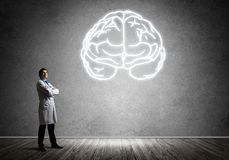 Free Neuroscience And Brain Research Concept Royalty Free Stock Photo - 122184435