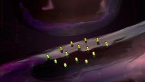 neurotransmetteurs illustration stock
