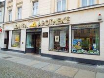 Neuruppin: birthplace of Theodor Fontane Stock Photos