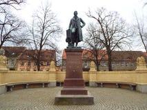 Neuruppin : Le monument de Schinkel photographie stock