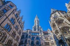 Neus Rathaus Fotografia Stock