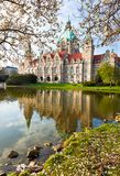 Neus Rathaus Hannover, The Stock Image