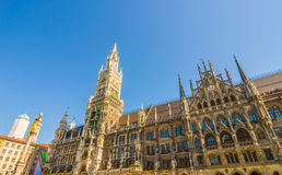 Neus Rathaus Stock Photo