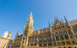 Neus Rathaus Stock Photo