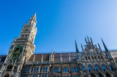 Neus Rathaus Royalty Free Stock Photo