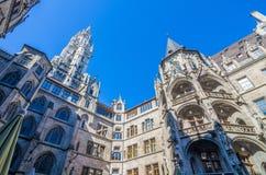 Neus Rathaus Stock Photography