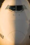 Neus van vliegtuigen royalty-vrije stock foto