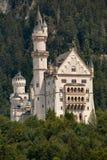 Neuschwanstein城堡在巴伐利亚,德国 库存照片