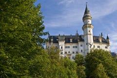 Neuschwanstein城堡,巴伐利亚德国 图库摄影
