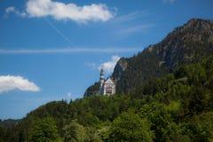 Neuschwanstein城堡 免版税图库摄影