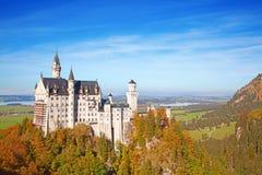Neuschwanstein城堡 免版税库存图片