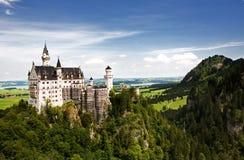 Neuschwanstein城堡 免版税库存照片