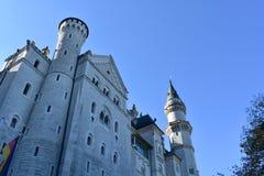 neuschwanstein Германии замока Баварии осени стоковые фотографии rf